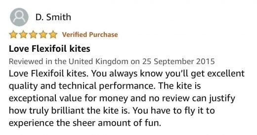 flexifoil kite client review