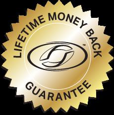 Lifetime Money Back Guarantee