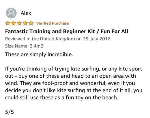 training kite exercises