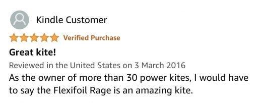 rage power kite review